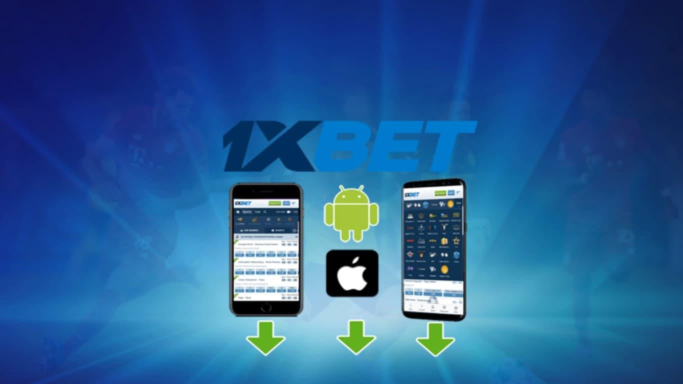 Installing 1xBet on Android and iOS