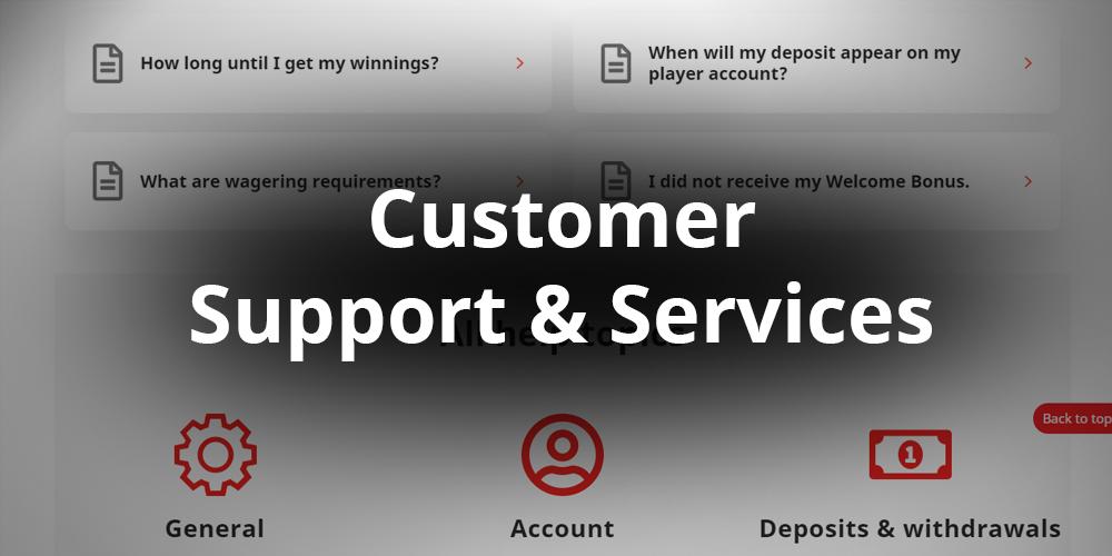 Royal Panda Casino Customer support & service